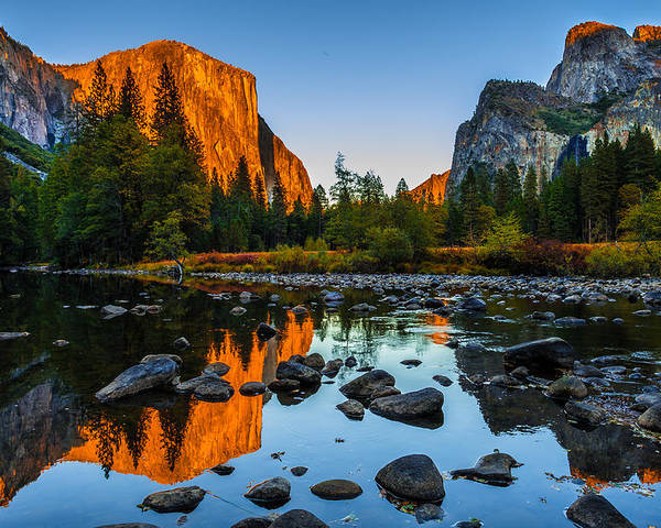 California Poster featuring the photograph Valley View Yosemite National Park by Scott McGuire