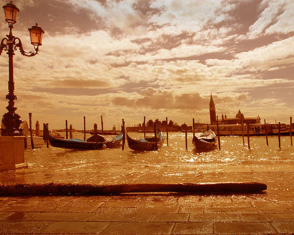 Venezia Poster featuring the photograph Venezia Iv by Rodika George