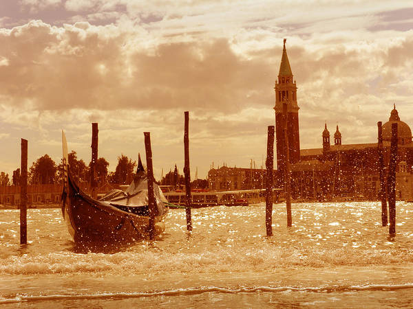Venezia Poster featuring the photograph Venice V by Rodika George