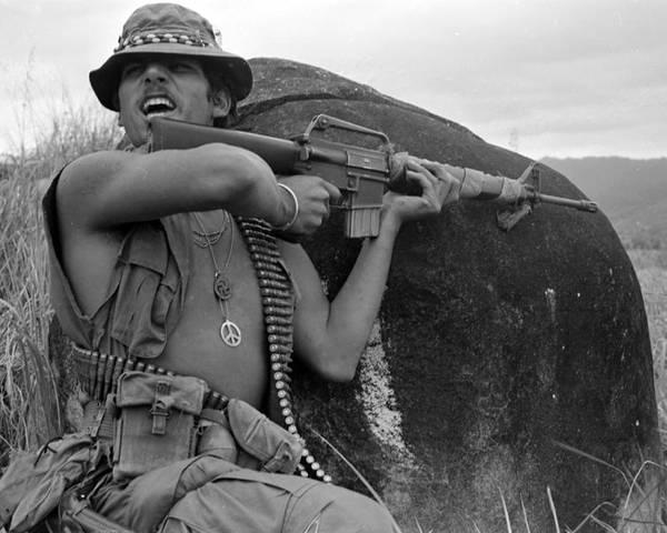 1960s Candids Poster featuring the photograph Vietnam War, Vietnam, Specialist. 4 by Everett