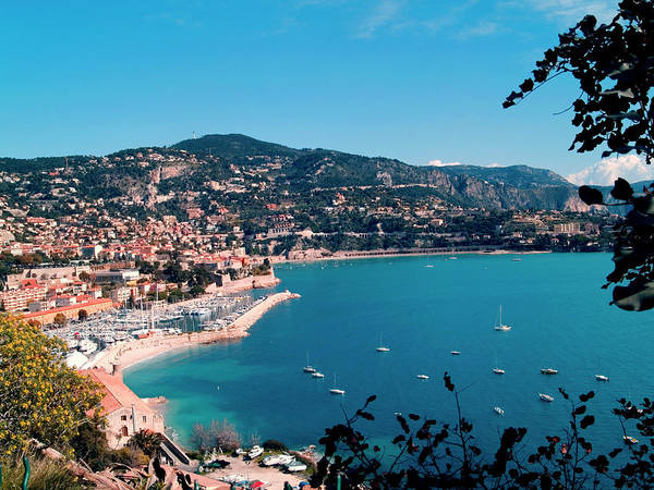Horizontal Poster featuring the photograph Villefranche Sur Mer by FCremona