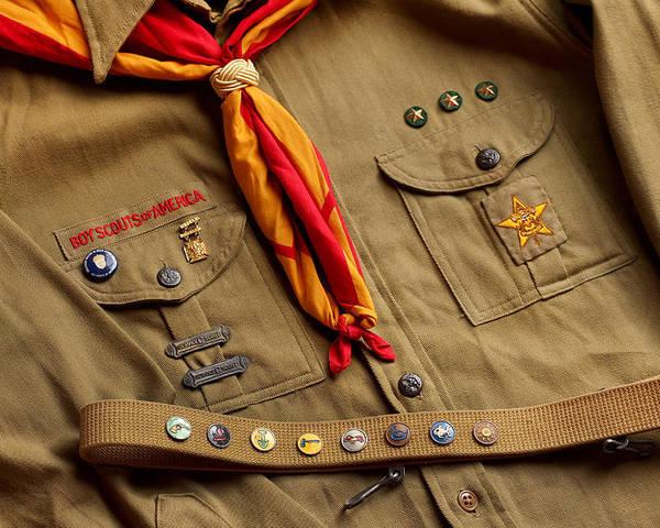 Vintage Boy Scout Uniform Poster