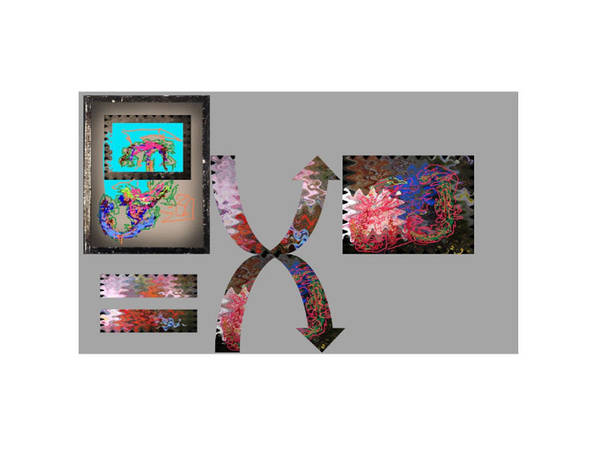 Virtual Sculpture Digital Scroll Poster featuring the digital art Virtual Sphere by Edwin VanGorder