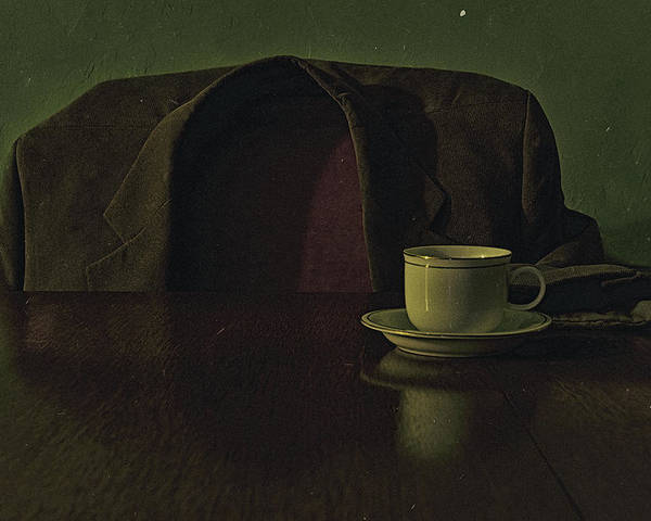 Still Life Poster featuring the photograph Waiting For Coffee by Kevin Towler