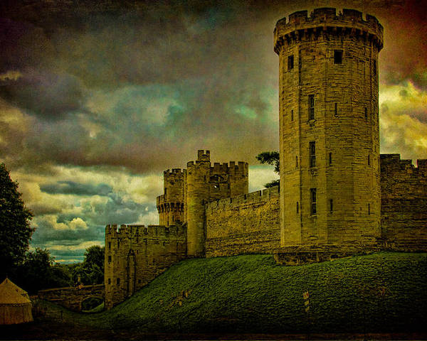 Castle Poster featuring the photograph Warwick Castle by Chris Lord