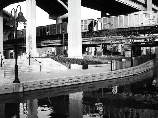 Richmond Poster featuring the photograph Water Under The Bridges by Karen C
