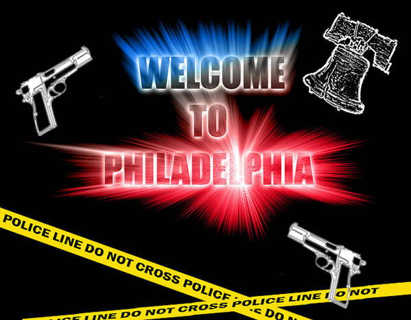 Philadelphia Poster featuring the photograph Welcome To Philadelphia by Christopher Woods