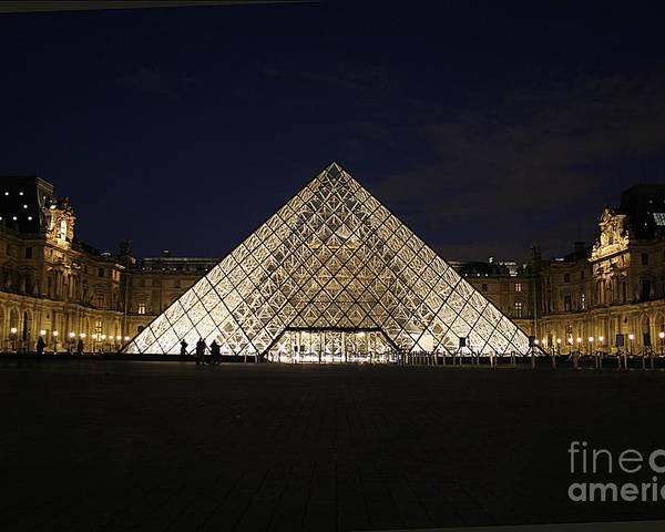 Louvre Museum Poster featuring the photograph Welcome To The Louvre by Joshua Francia