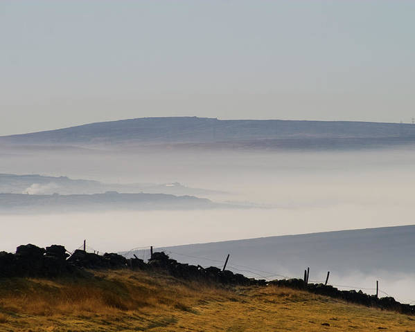 Moors Poster featuring the photograph West Yorkshire Moors 1 by Brian Middleton