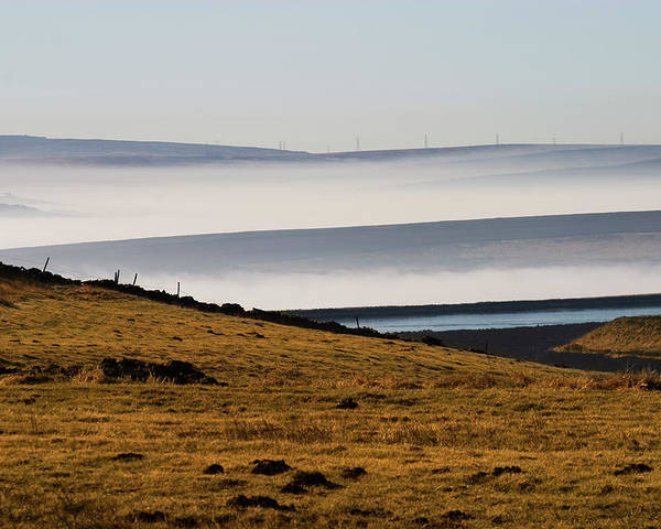 Moors Poster featuring the photograph West Yorkshire Moors by Brian Middleton