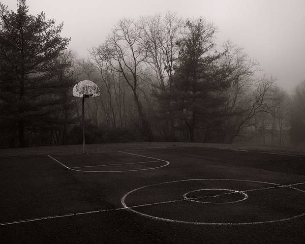 Basketball Poster featuring the photograph When We Were Young by Steven Ainsworth