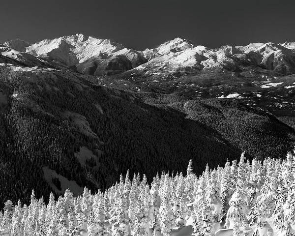 Whistler Poster featuring the photograph Whistler Winter Scenery by Pierre Leclerc Photography