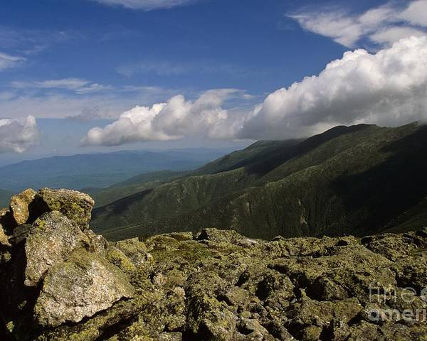 Appalachian Trail Poster featuring the photograph White Mountain National Forest - New Hampshire Usa by Erin Paul Donovan