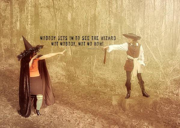 Halloween Poster featuring the photograph Wicked Quote by JAMART Photography