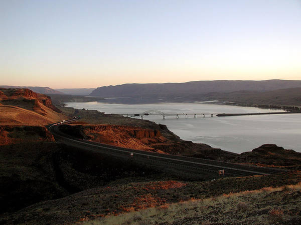 Columbia River Poster featuring the photograph Wild Horse Lookout - Washington by D'Arcy Evans
