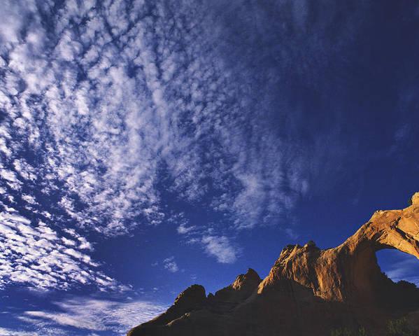 Window Rock Poster featuring the photograph Window Rock, Arizona by Dawn Kish