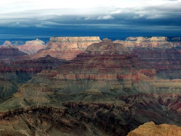 Grand Canyon National Park Poster featuring the photograph Winter Approaching by Carrie Putz