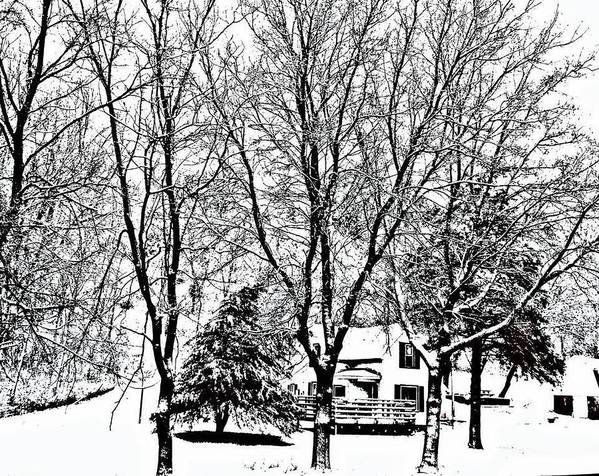 Snow Poster featuring the photograph Winter Wonderland by Lori Faircloth