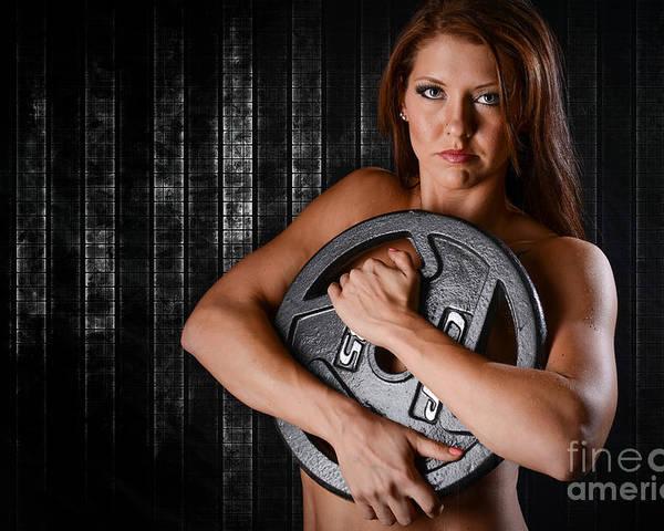 Woman Workout Poster