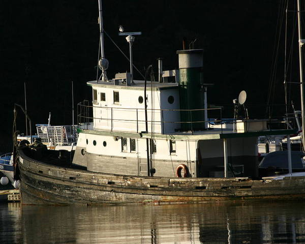Boat Poster featuring the photograph Workboat by Doug Johnson