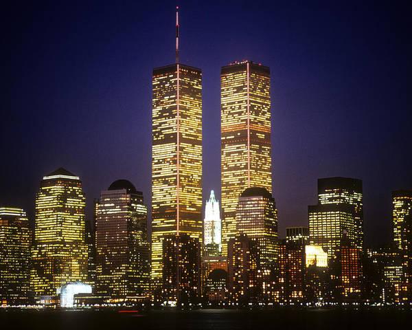 Manhattan Poster featuring the photograph World Trade Center by Gerard Fritz