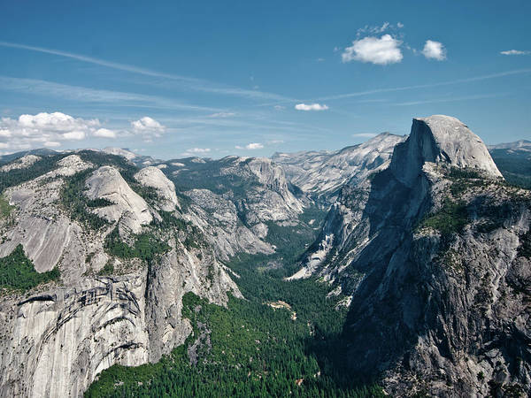 Horizontal Poster featuring the photograph Yosemite Valley by Photo by Lars Oppermann