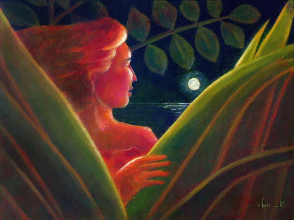 Light Poster featuring the painting You Are The Light Of My Life by Angela Treat Lyon
