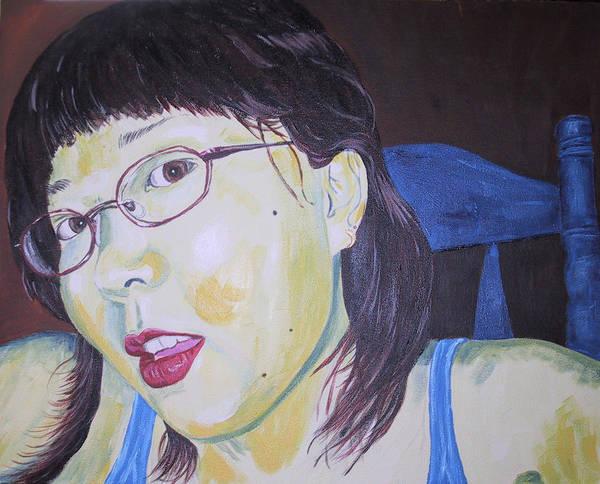 Kevin Callahan Poster featuring the painting Yuka by Kevin Callahan