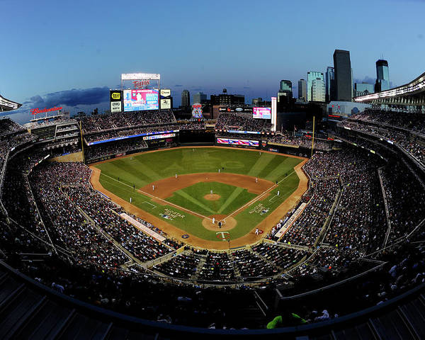 American League Baseball Poster featuring the photograph 85th Mlb All Star Game by Hannah Foslien