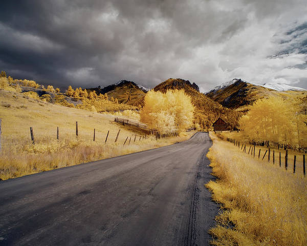 Colorado Poster featuring the photograph Back Road In Colorado 1 by Jon Glaser