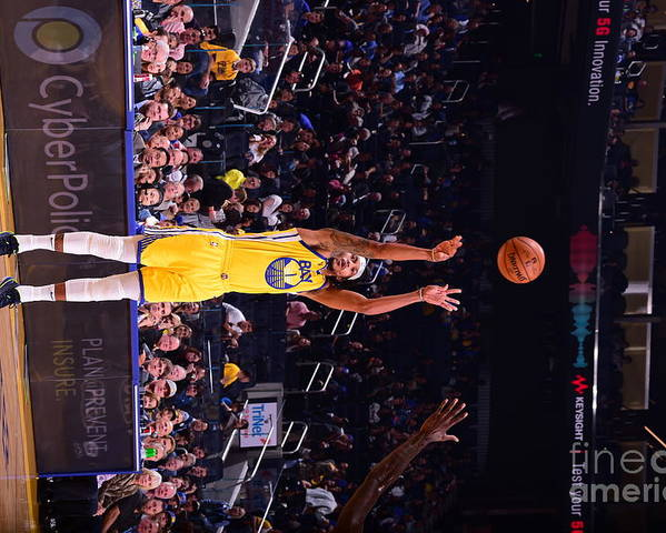 San Francisco Poster featuring the photograph Charlotte Hornets V Golden State by Noah Graham