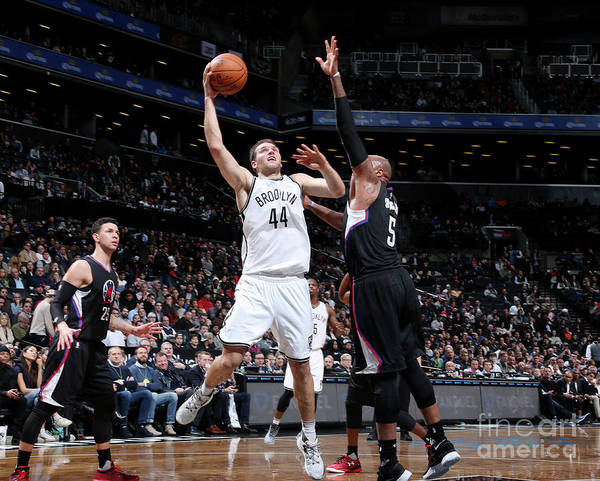 Nba Pro Basketball Poster featuring the photograph La Clippers V Brooklyn Nets by Nathaniel S. Butler