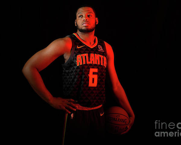 Nba Pro Basketball Poster featuring the photograph 2018 Nba Rookie Photo Shoot by Brian Babineau