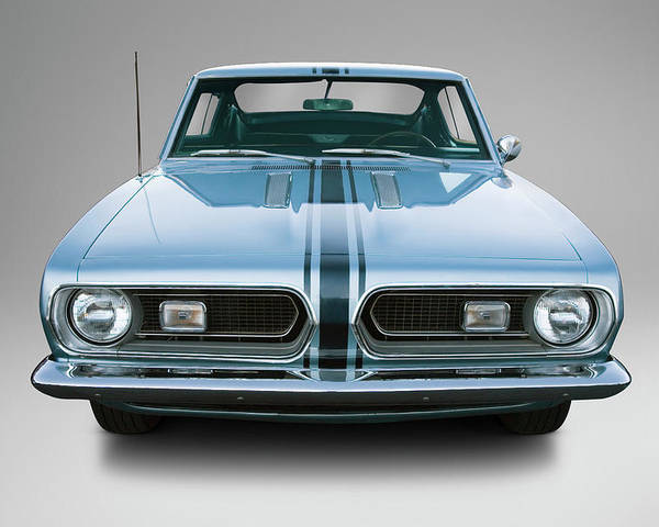 1967 Plymouth Barracuda Poster