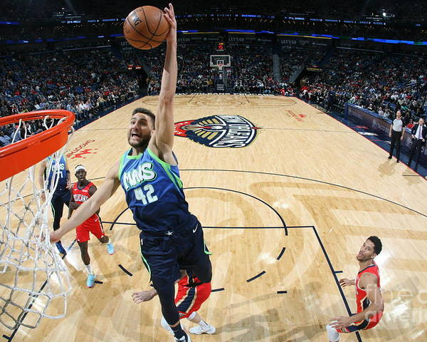Smoothie King Center Poster featuring the photograph Dallas Mavericks V New Orleans Pelicans by Layne Murdoch Jr.