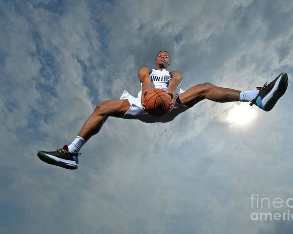 Nba Pro Basketball Poster featuring the photograph 2017 Nba Rookie Photo Shoot by Jesse D. Garrabrant
