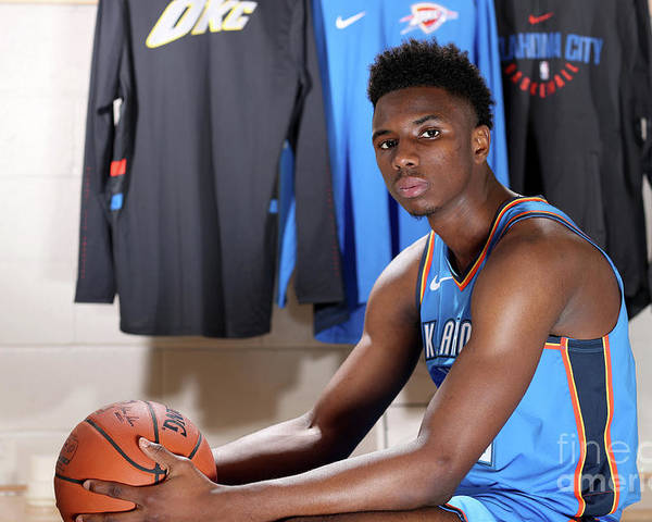 Nba Pro Basketball Poster featuring the photograph 2018 Nba Rookie Photo Shoot by Nathaniel S. Butler