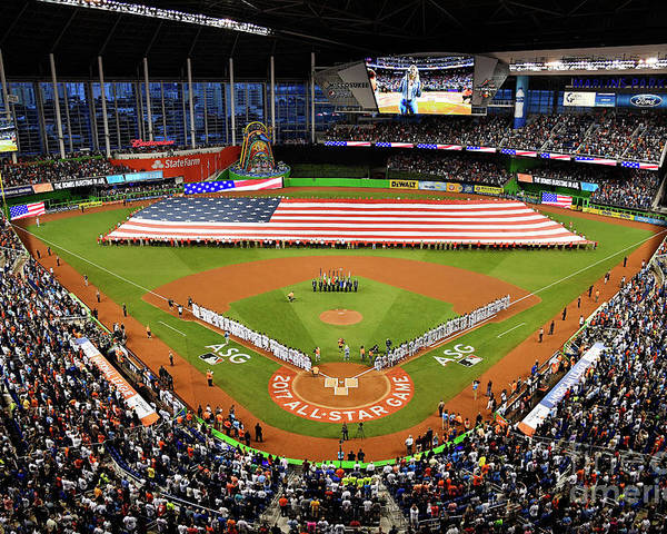 American League Baseball Poster featuring the photograph 88th Mlb All-star Game by Mark Brown