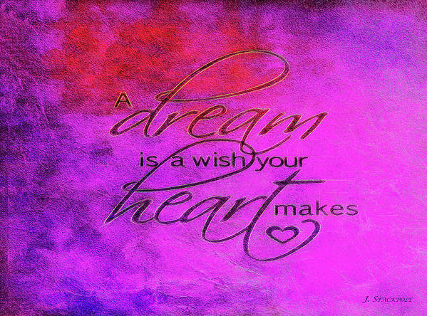 Dream Poster featuring the photograph A Dream Is A Wish by Jennifer Stackpole