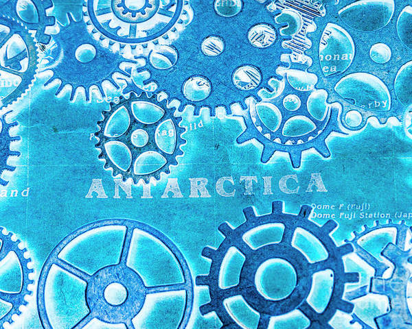Antarctica Poster featuring the photograph Ancient Antarctic Technology by Jorgo Photography - Wall Art Gallery