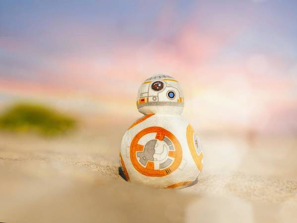 Star Wars Poster featuring the photograph BB8 by Hsin Cheu