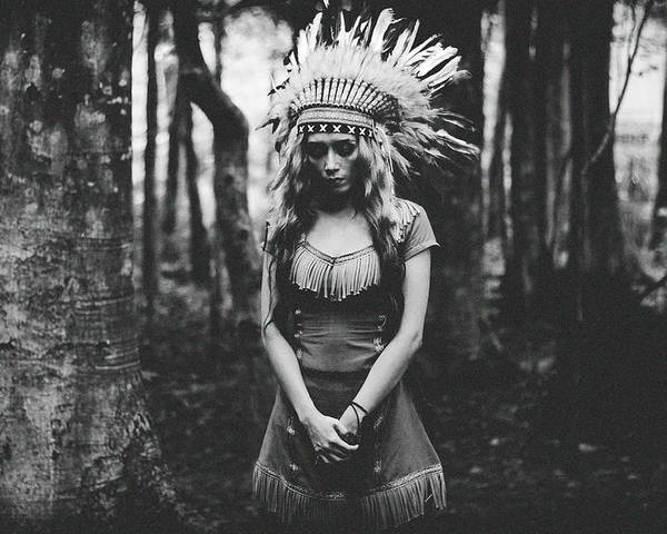Indian Poster featuring the photograph Black And White Mood In The Forest by Bagasphotowork