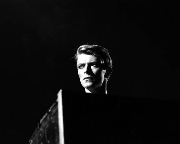 David Bowie Poster featuring the photograph Head Of David by Evening Standard