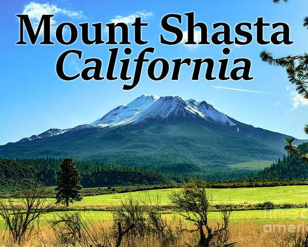 Mount Shasta Poster featuring the photograph Mount Shasta California by G Matthew Laughton