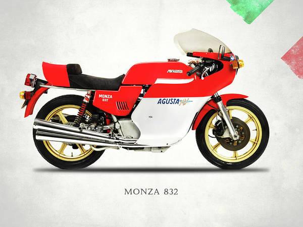 Mv Agusta Poster featuring the photograph Mv Agusta Monza 1978 by Mark Rogan