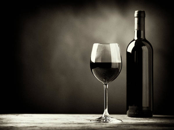 Alcohol Poster featuring the photograph Red Wine by Kaisersosa67