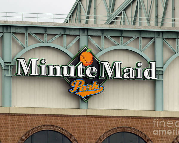 Minute Maid Park Poster featuring the photograph Rockies V Astros by Ronald Martinez