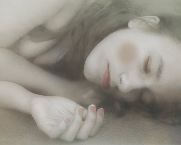 Poster featuring the photograph Sleeping Doll by Michel Romaggi