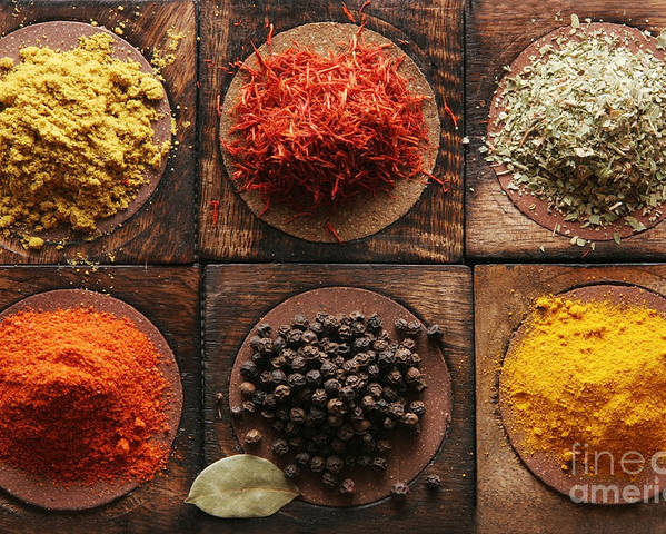 Pepper Poster featuring the photograph Spice by Yana Kabangu