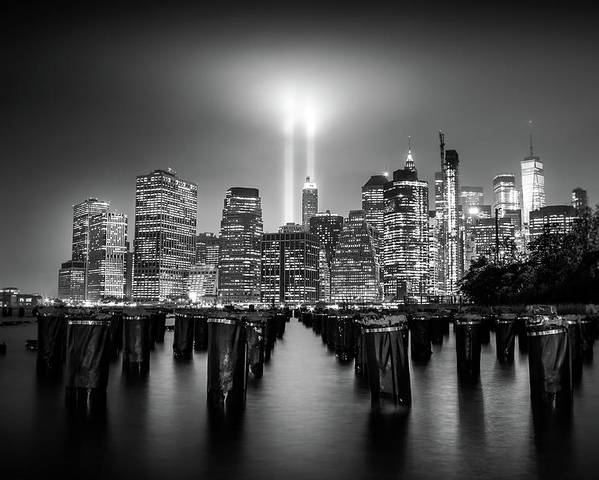 New York Poster featuring the photograph Spirit Of New York by Nicklas Gustafsson